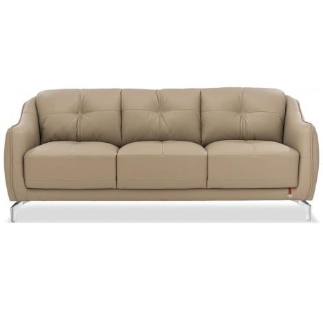 Astonishing Buy Skyler 3 Seater Brown Leather Sofa Leather Sofas Online At Durian Evergreenethics Interior Chair Design Evergreenethicsorg